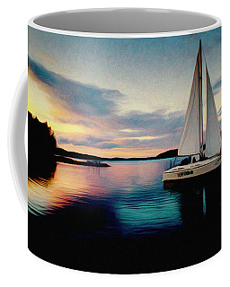 Coffee Mug featuring the photograph Evening Colors by Vladimir Kholostykh