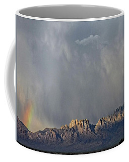 Coffee Mug featuring the photograph Evening Drama Over The Organs by Kurt Van Wagner