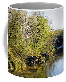 Evening Falls On Cedar Creek Coffee Mug