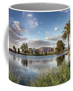 Evening Fishing Coffee Mug
