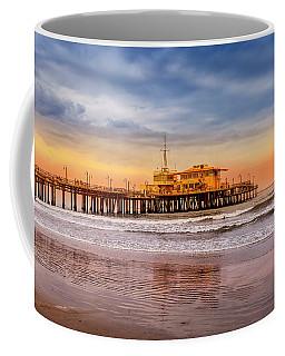 Evening Glow At The Pier Coffee Mug