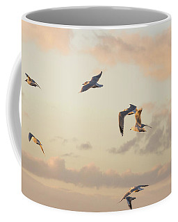 Evening Gulls Coffee Mug