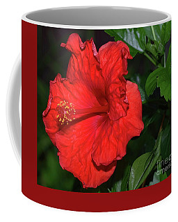 Evening Hibiscus Coffee Mug by Diana Mary Sharpton