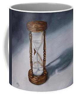 Evening Hourglass Coffee Mug