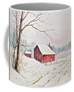 Coffee Mug featuring the painting Evening Hush by Carolyn Rosenberger