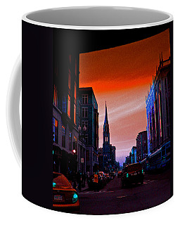 Evening In Boston Coffee Mug