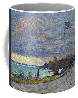 Evening In Gratwick Waterfront Park Coffee Mug