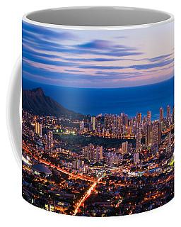 Evening In Honolulu Coffee Mug