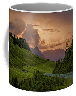 Evening In The Alps Coffee Mug