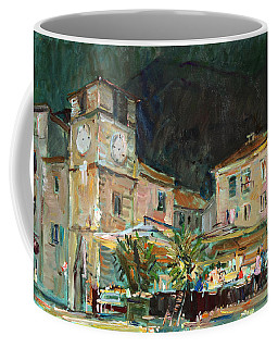 Evening In The Old Town Coffee Mug