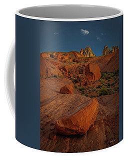 Evening In The Valley Of Fire Coffee Mug