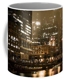 Evening In The Windy City Coffee Mug