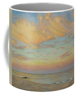 Coffee Mug featuring the painting Evening by Joe Bergholm