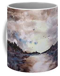 Evening Light Coffee Mug by Geni Gorani