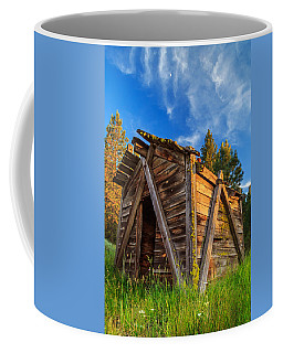 Evening Light On An Old Cabin Coffee Mug