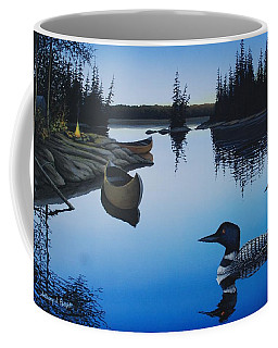 Evening Loons Coffee Mug