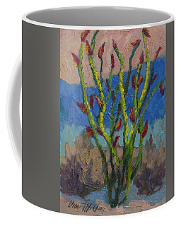 Evening Ocotillo Coffee Mug