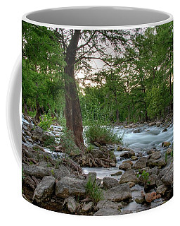 Evening On The Guadeloupe River  Coffee Mug by Kelly Wade