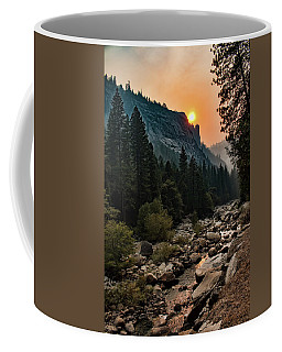 Evening On The Merced River Coffee Mug