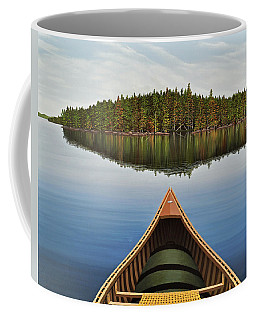 Evening Paddle  Coffee Mug