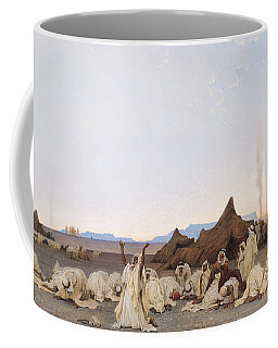 Evening Prayer In The Sahara Coffee Mug