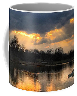 Coffee Mug featuring the photograph Evening Relaxation by Sumoflam Photography