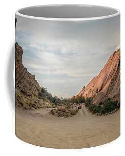 Coffee Mug featuring the photograph Evening Rocks By Mike-hope by Michael Hope