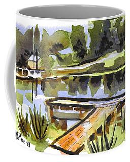 Evening Shadows At Shepherd Mountain Lake Coffee Mug