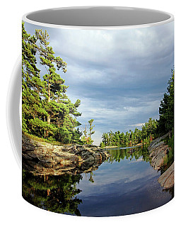 Evening Silence Franklin Island Coffee Mug