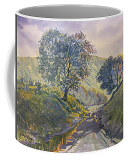 Evening Stroll In Millington Dale Coffee Mug