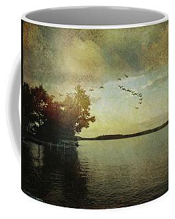 Evening, The Lake Coffee Mug