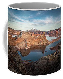 Coffee Mug featuring the photograph Evening View Of Lake Powell by James Udall