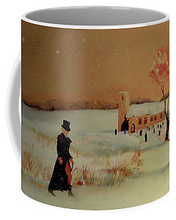 Coffee Mug featuring the painting Evensong by Valerie Anne Kelly