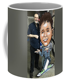 Coffee Mug featuring the digital art Event Decoration For Bar Mitzvah by Kevin Middleton