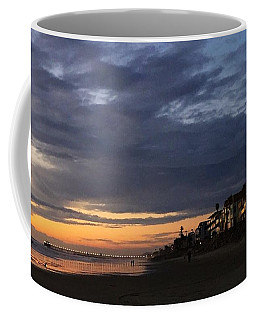 Coffee Mug featuring the photograph Eventide, Oceanside, California by Jan Cipolla