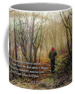 Coffee Mug featuring the photograph Ever On And On... by Jessica Brawley