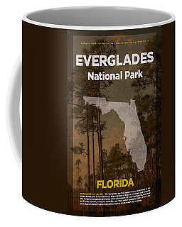 Everglades National Park In Florida Travel Poster Series Of National Parks Number 15 Coffee Mug