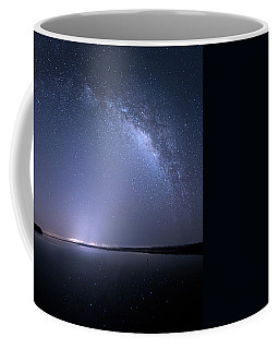 Coffee Mug featuring the photograph Everglades National Park Milky Way by Mark Andrew Thomas