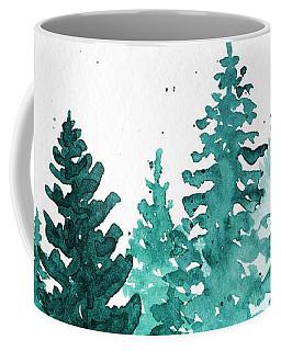 Evergreen Christmas Coffee Mug