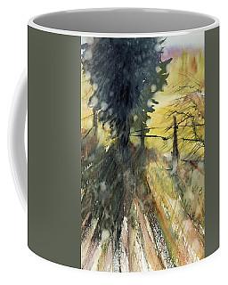 Evergreen Coffee Mug by Judith Levins