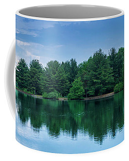 Evergreen Lake Reflections Coffee Mug