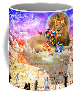 Coffee Mug featuring the digital art Every Tribe Every Nation by Dolores Develde