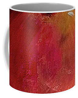 Coffee Mug featuring the painting Eve's Apple.. by Jolanta Anna Karolska