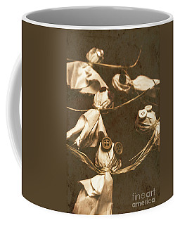 Evil B-grade Horror Dolls Coffee Mug