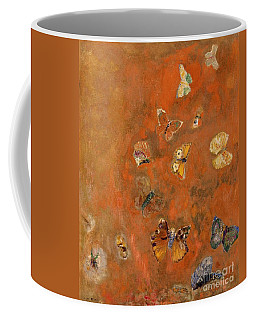 Evocation Of Butterflies Coffee Mug