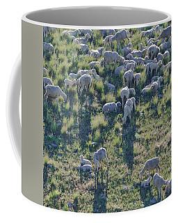 Ewes And Lambs - Original Coffee Mug by Kae Cheatham