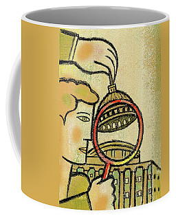 Examining  The  Federal Government Coffee Mug