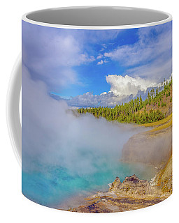 Coffee Mug featuring the photograph Excelsior Geyser Crater Yellowstone by Scott McGuire