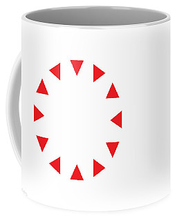 Coffee Mug featuring the digital art Excluded by Greg Collins