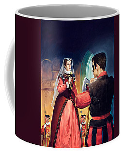Execution Of Mary Queen Of Scots Coffee Mug